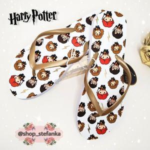 🎁 Harry Potter Hogwarts Flip Flops 💫